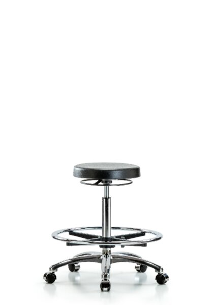 Darlene High Bench Height Adjustable Lab Stool by Symple Stuff