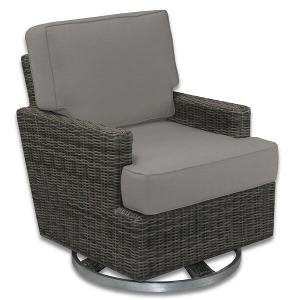 Catalina Swivel Patio Chair with Sunbrella Cushions by Axcss Inc.