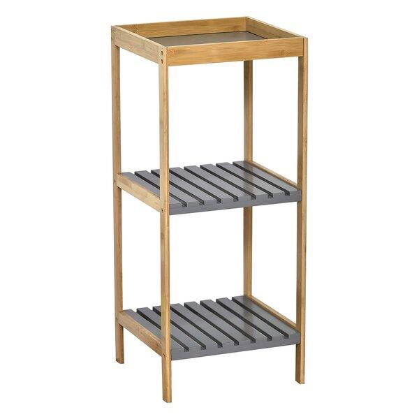 Noumea 13.7'' W x 31.8'' H x 13.2'' D Free Standing Bathroom Shelves