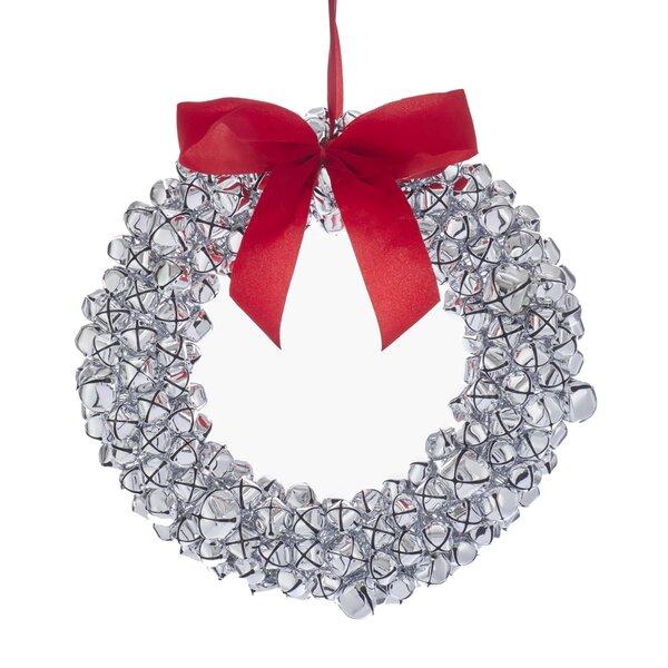 Metal Jingle Bell Wreath Ornament Hanging Accessory by Kurt Adler