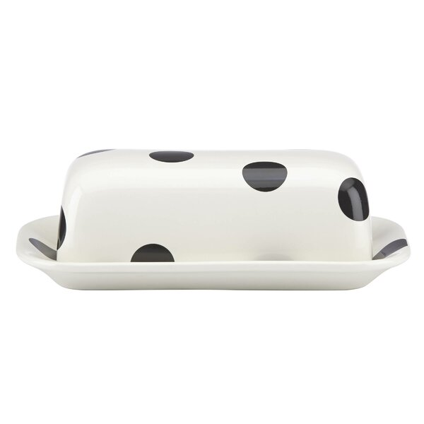 All in Good Taste Deco Dot Covered Butter by kate spade new york