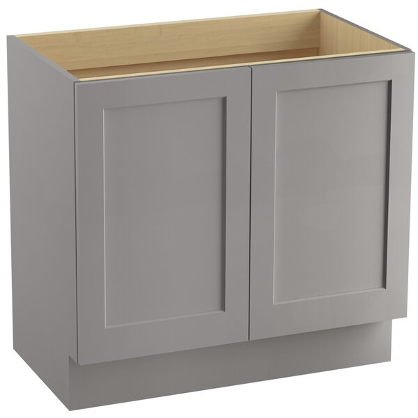 Poplin™ 36 Vanity with Toe Kick and 2 Doors by Kohler