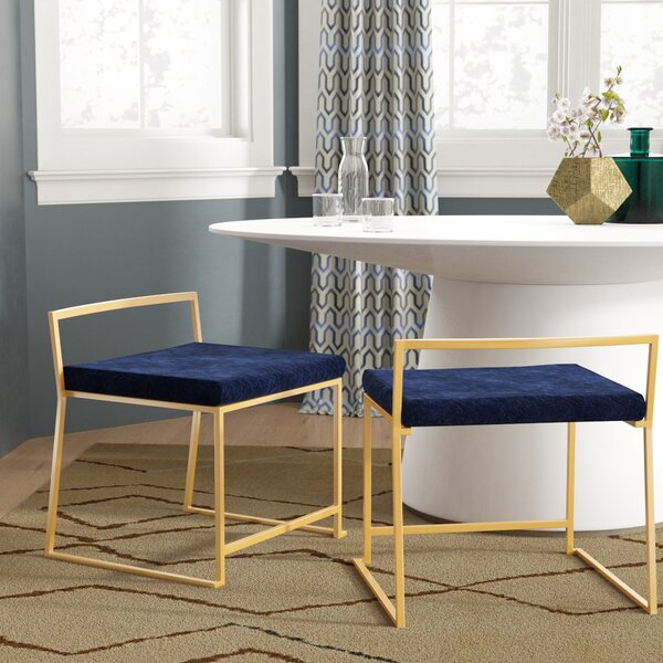 Gary Upholstered Dining Chair (Set of 2) by Wade Logan