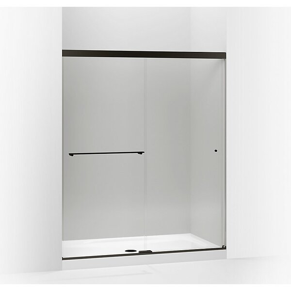 Revel 59.63 x 70 Double Sliding Shower Door with CleanCoat® Technology by Kohler