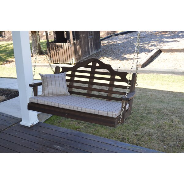 Coury Porch Swing by Rosecliff Heights Rosecliff Heights