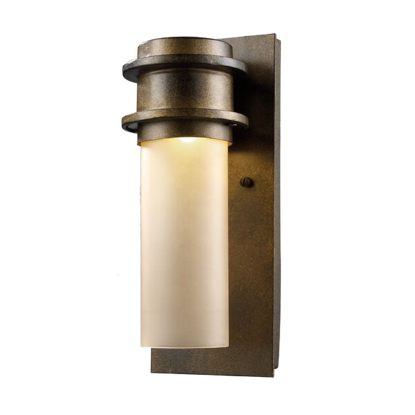 Dossett 1-Light Outdoor Sconce by Ivy Bronx