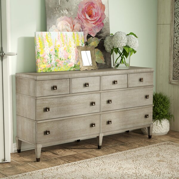 Massimo 8 Drawer Double Dresser By Mistana