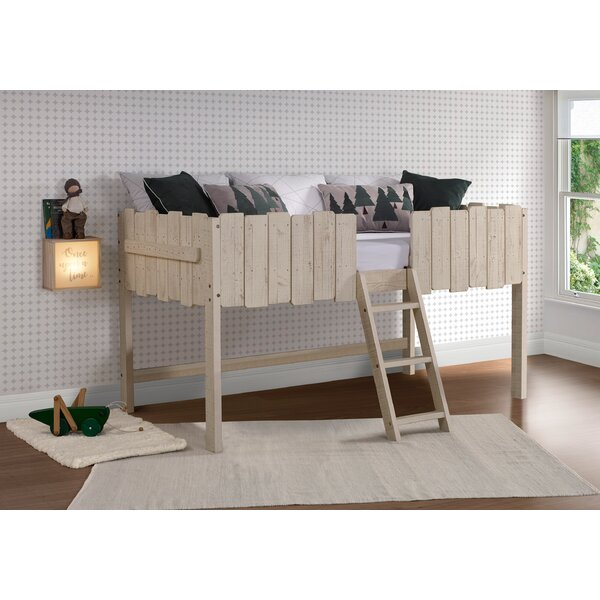 Coelho Twin Low Loft Bed by Isabelle & Max