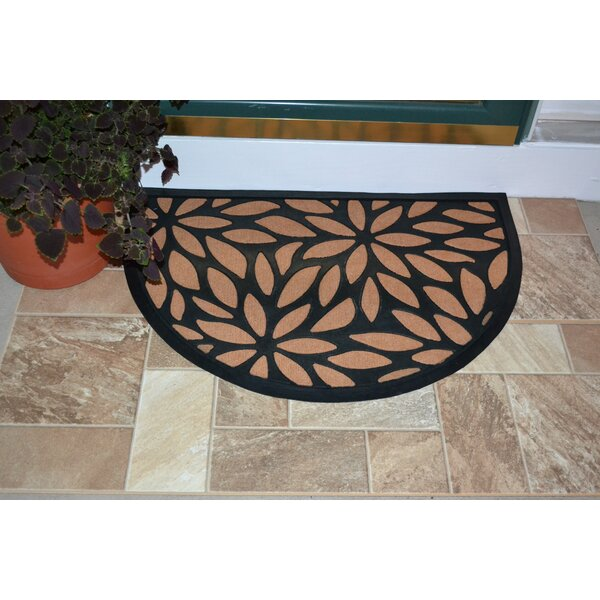 Winona Petals Rubber Doormat by Red Barrel Studio