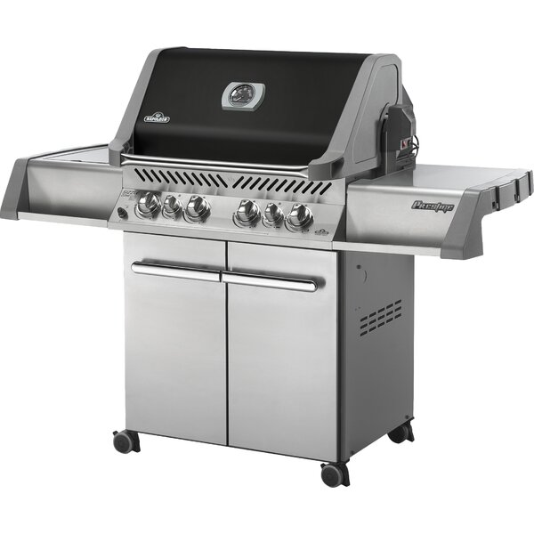 Prestige 6-Burner Gas Grill with Cabinet by Napoleon