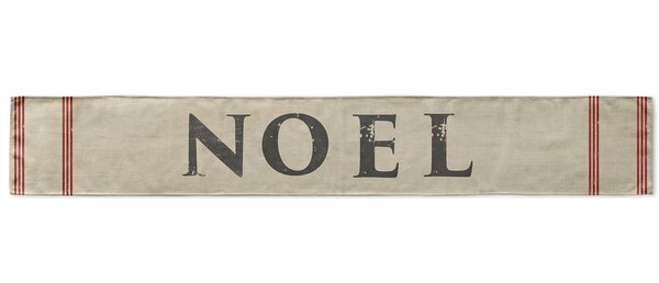 Noel Table Runner by KAVKA DESIGNS