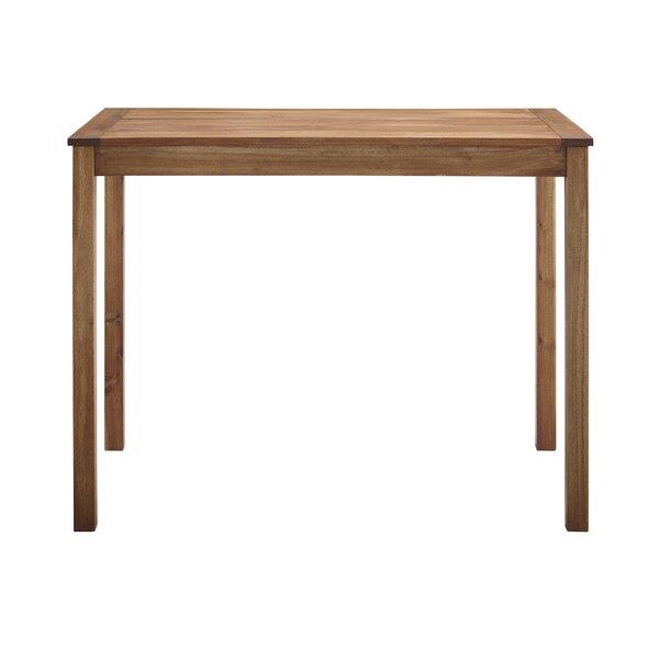 Makayla Wooden Bar Table by Gracie Oaks