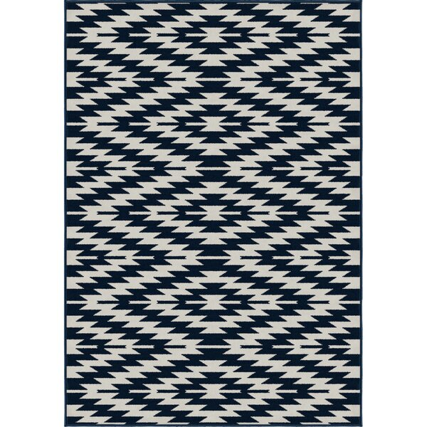 Chapell Blue Area Rug by Bungalow Rose