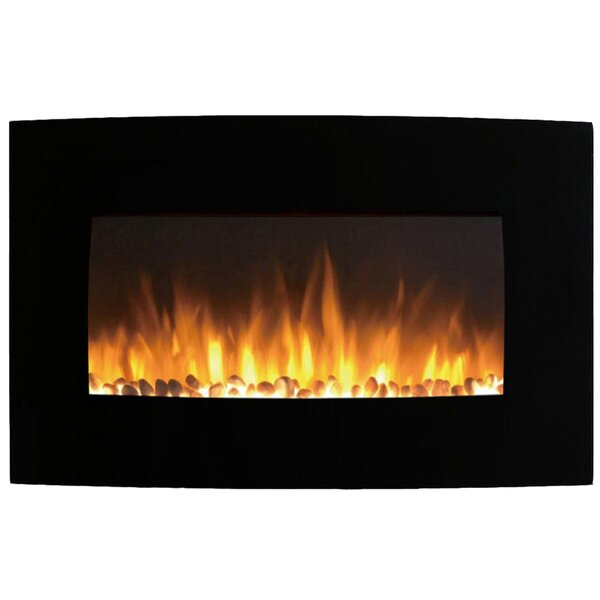 Middleton Wall Mounted Electric Fireplace by Ebern Designs