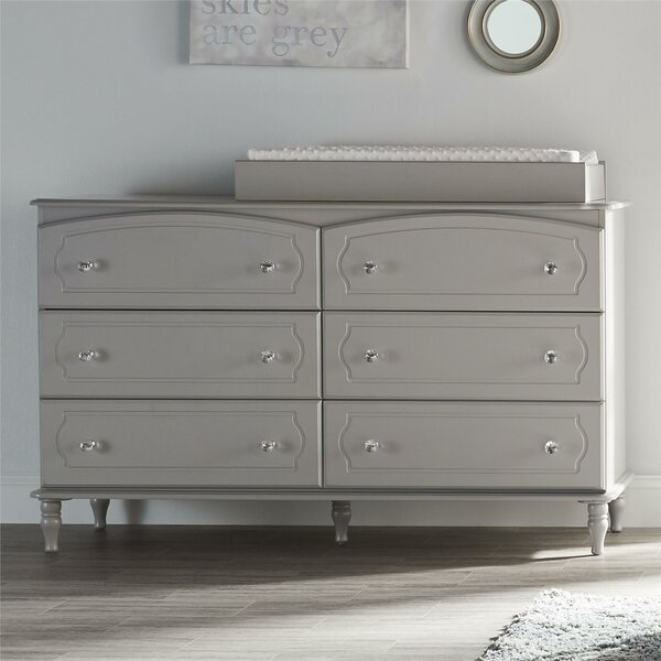 Amery 6 Drawer Changing Dresser by Harriet Bee
