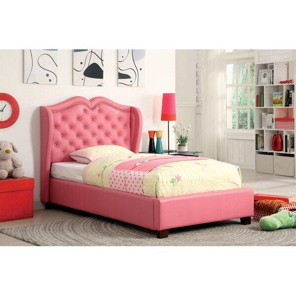 Hokku Designs Vanitas Upholstered Platform Bed Reviews Wayfair