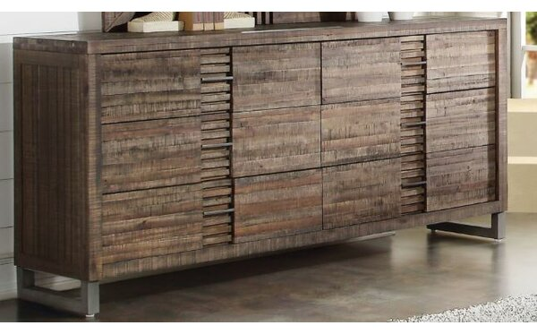 Best #1 Womac 6 Drawer Double Dresser By Union Rustic Discount