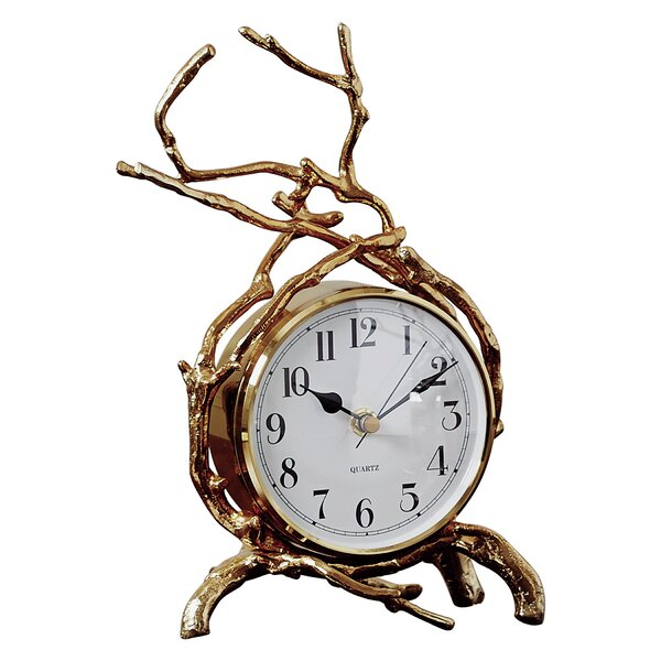 Twig Tabletop Clock by Global Views