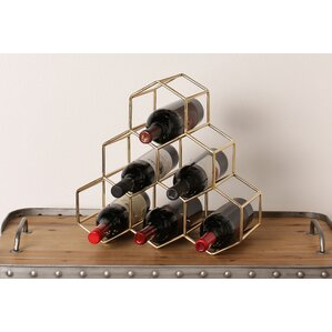 Merl 6 Bottle Tabletop Wine Bottle Rack by Kate and Laurel