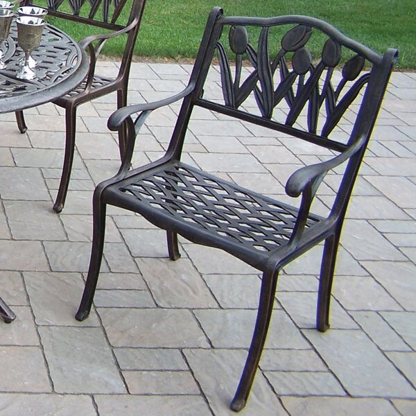 Capitol Stacking Patio Dining Chair by Oakland Living
