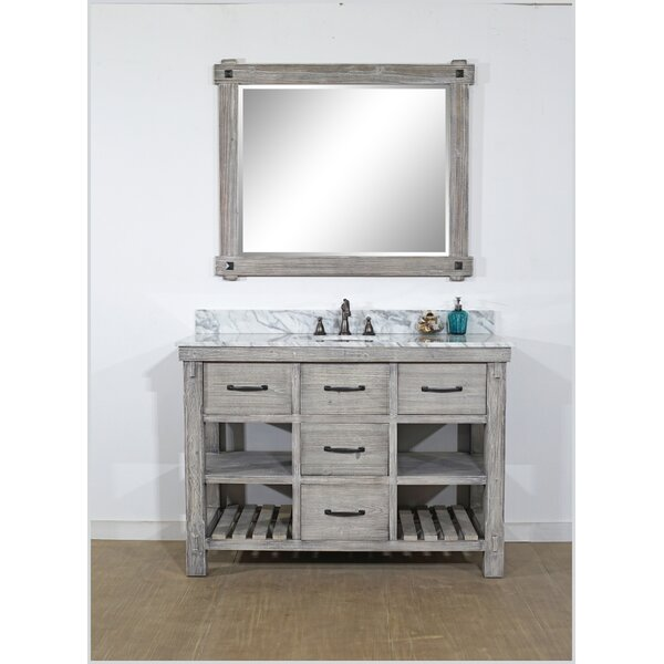 Wigley Solid Fir 49 Single Bathroom Vanity Set by Breakwater Bay