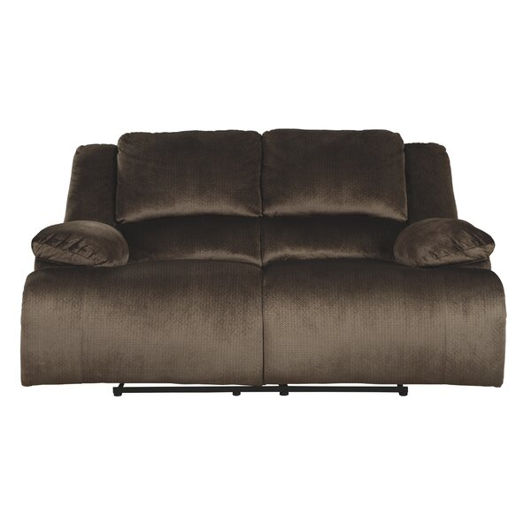 Save Big With Heiko Reclining Loveseat by Winston Porter by Winston Porter