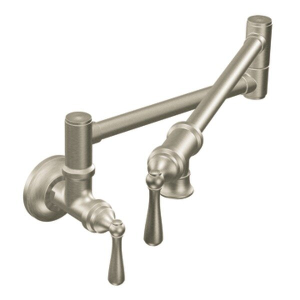 Traditional Swing Arm Pot Filler by Moen