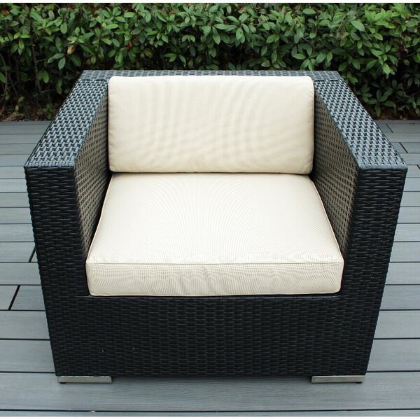 Club Patio Chair with Cushions by Ohana Depot