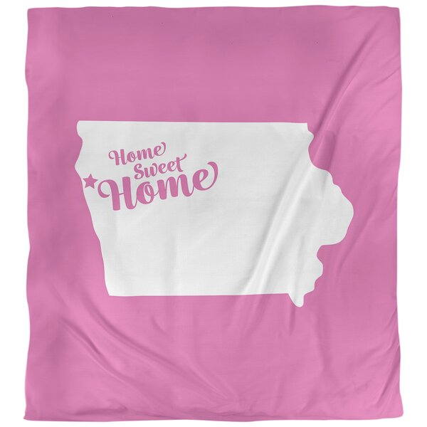 Home Sweet Sioux City Duvet Cover