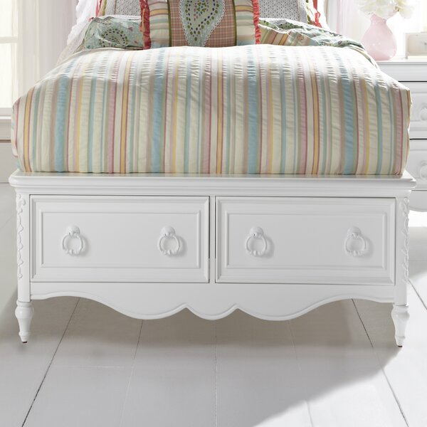 Cricklade Panel Bed with Drawers by Viv + Rae