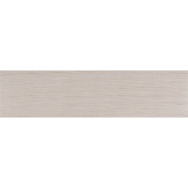 Sygma Ice 6 x 24 Ceramic Wood look Tile in White by MSI