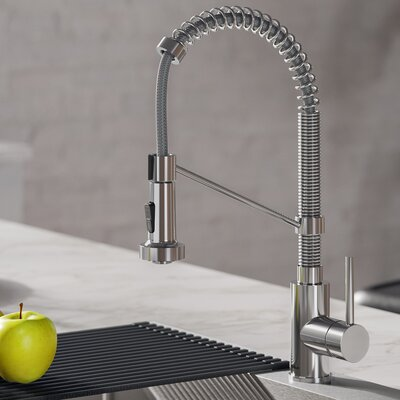 Transitional 1 Hole Kitchen Faucets For Your Signature