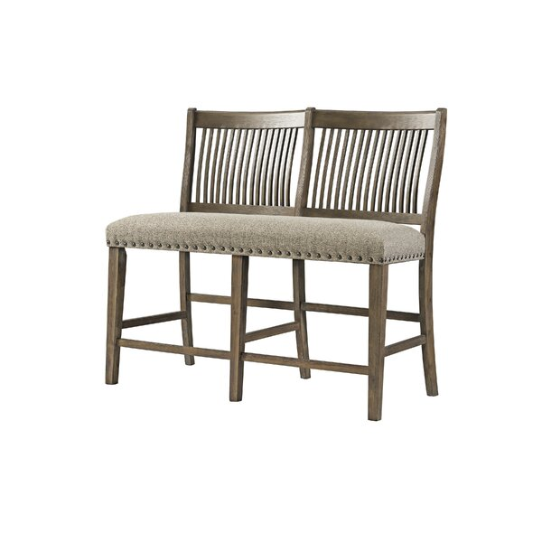 Schweitzer Upholstered Bench by Gracie Oaks