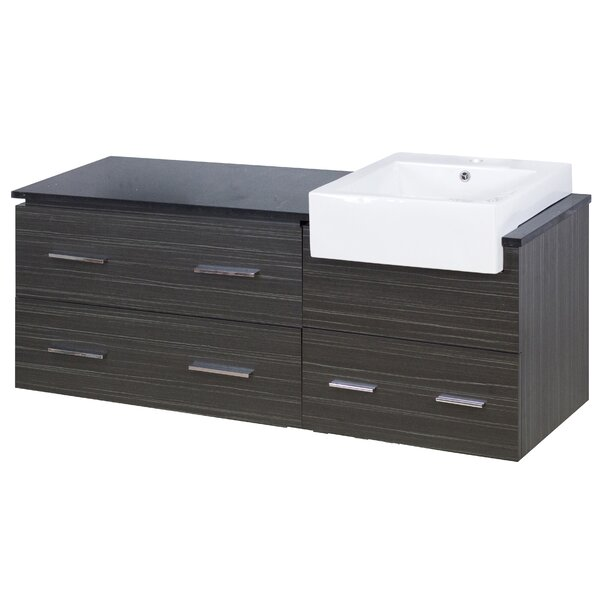 Bartram 61 Single Bathroom Vanity Set by Orren Ellis