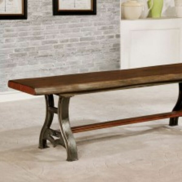 Dorn Wood Bench by Darby Home Co