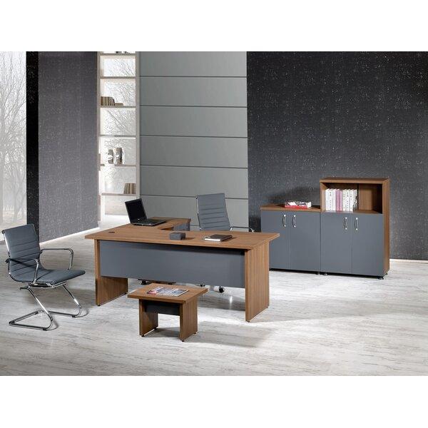 Puentes Modern 4 Piece L Shaped Desk Office Suite by Brayden Studio