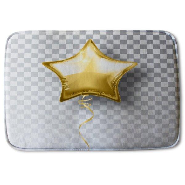 Neema Star Balloon Designer Bath Rug