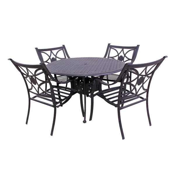 Sunderland 5 Piece Seating Group by Fleur De Lis Living