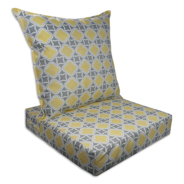 Bandos Indoor/Outdoor Replacement Cushion Set (Set of 2) by Sherry Kline