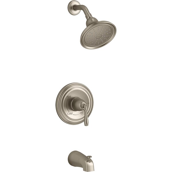 Devonshire Rite-Temp Bath And Shower Trim With Slip-Fit Spout And 1.75 Gpm Showerhead By Kohler