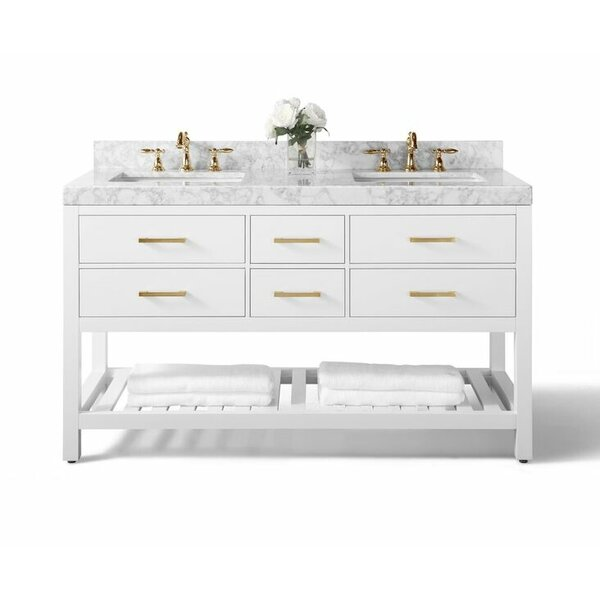 Jauss 60 Double Bathroom Vanity Set by Mercer41