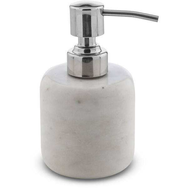 Chung Round Marble Soap & Lotion Dispenser by George Oliver