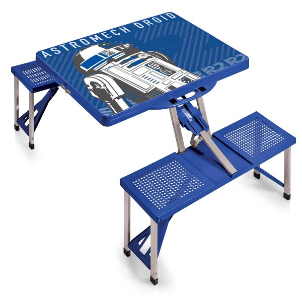 R2-D2 Folding Aluminum Camping Table by ONIVA™