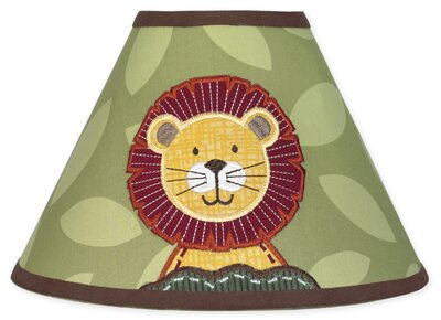 Jungle Time 10 Cotton Empire Lamp Shade by Sweet Jojo Designs
