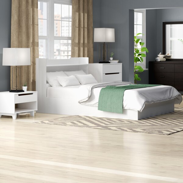 Massie Platform 4 Piece Bedroom Set by Mercury Row