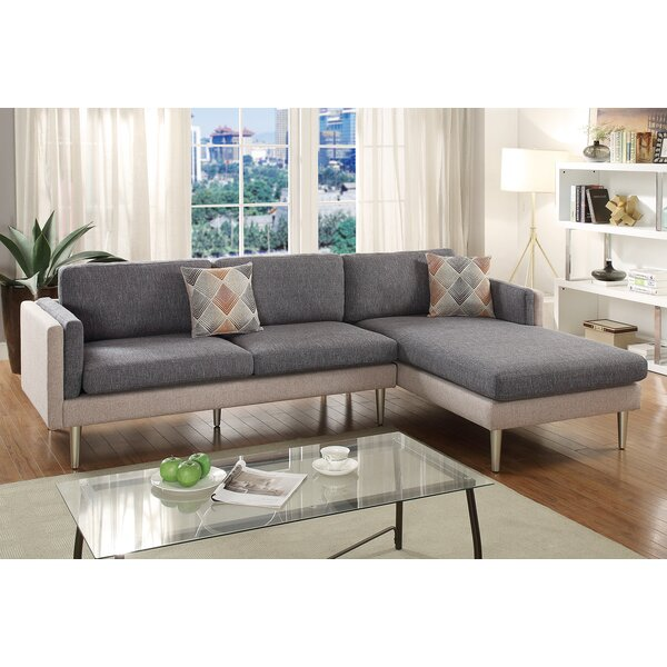Latest Collection Varghese Right Hand Facing Sectional by George Oliver by George Oliver