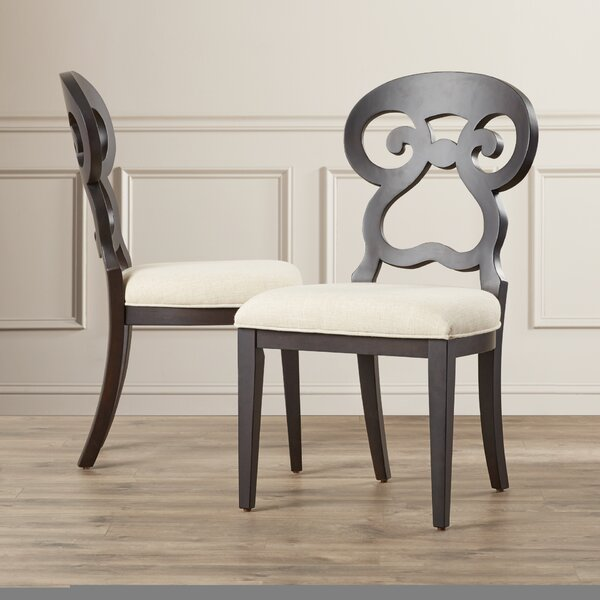 Rossetti Upholstered Dining Chair (Set of 2) by Willa Arlo Interiors Willa Arlo Interiors