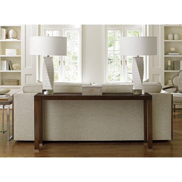Lexington Brown Console Tables