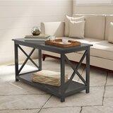 Cross Legs Coffee Table by Lavish Home