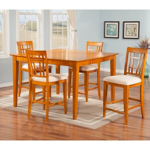 Bluffview 5 Piece Pub Table Set by Darby Home Co